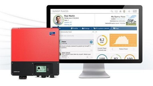 SMA Now Offering Free Online Monitoring for Sunny Boy Inverters