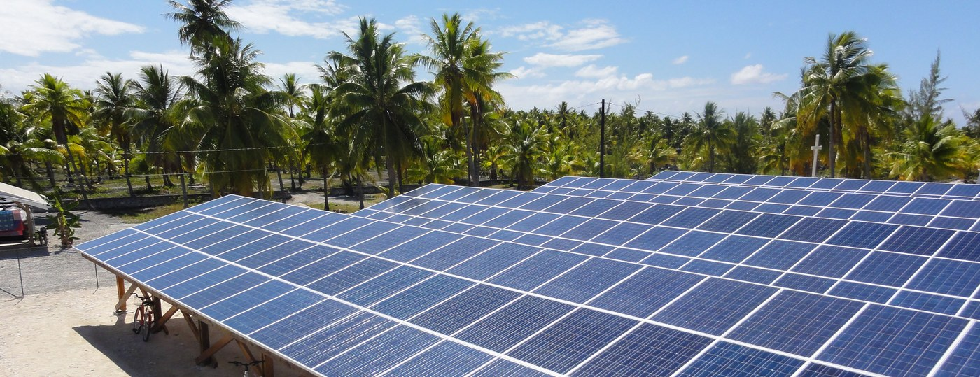 PV Diesel Hybrid Application - Reao, French Polynesia