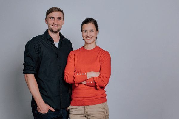 Tim Mau, Product Manager, and Melissa Weber, Software Developer - former students at SMA