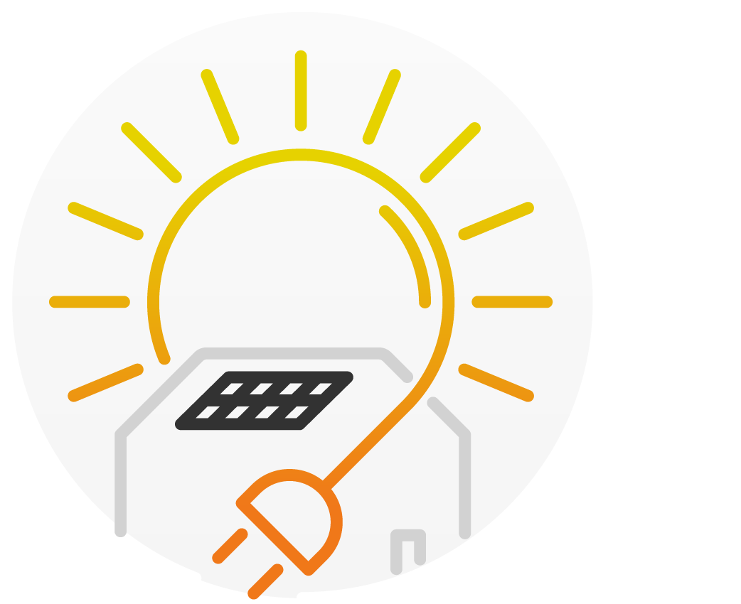 Use more solar power yourself through intelligent energy management