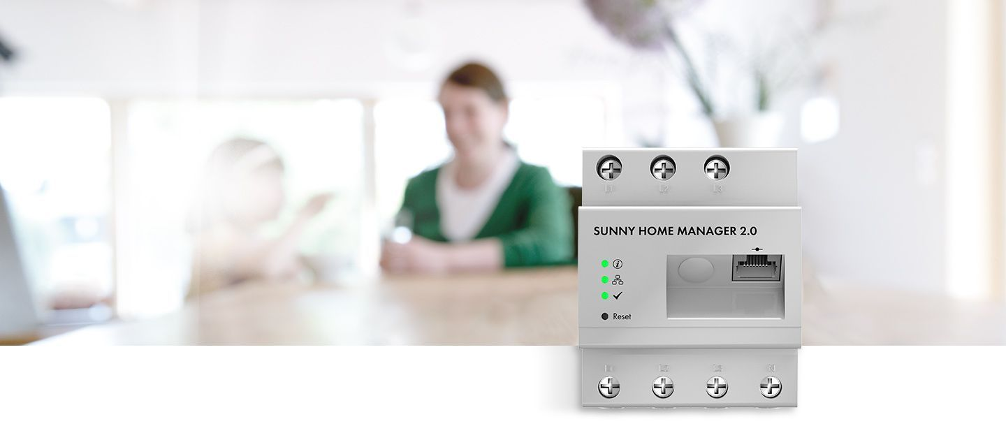 The new, compact Sunny Home Manager 2.0