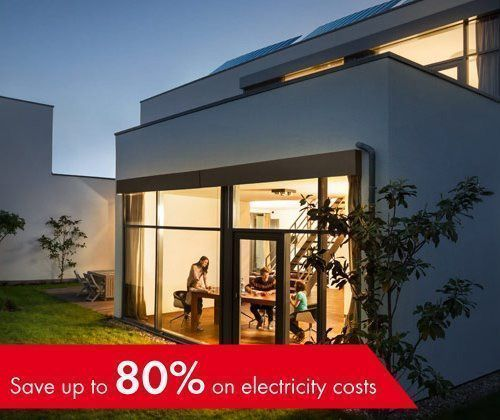 With SMA solutions, save up to 80% on electricity costs