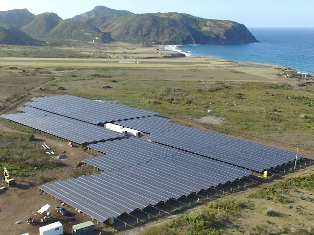 Sustainable power supply to the Caribbean island of St. Eustatius