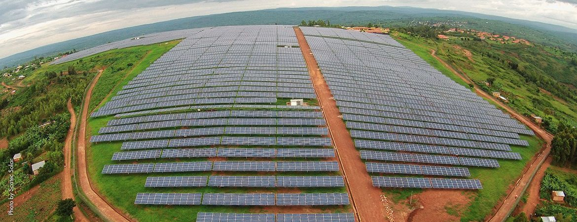PV power plant with 4 Medium Voltage Power Stations for Rwanda