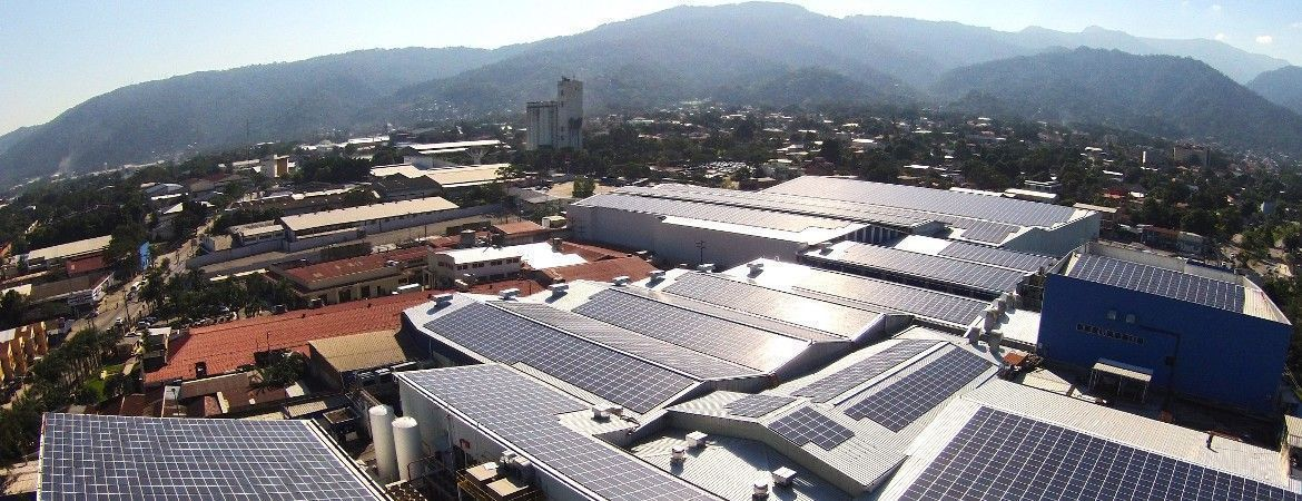 Largest rooftop PV system in Latin America - San Pedro Sula, Honduras