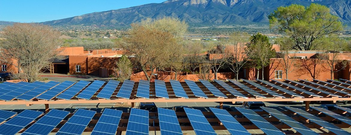 Commercial PV System - Santa Ana Golf Club in Bernalillo, New Mexiko, United States