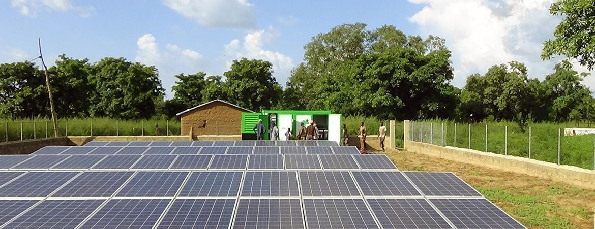 Hybrid Energy Supply - Benin, 2015 Rural electrification of Kosia & Kokabo