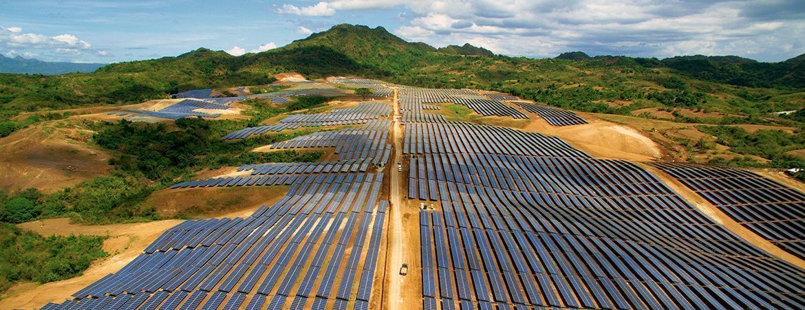 Utility-sclae PV power plant - Philippines, 2016 Catalagan Solar Farm