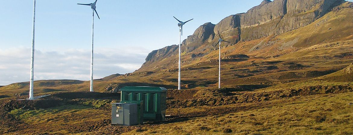 Off-Grid Power Supply for Eigg Island