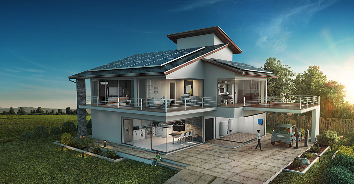 3D View - Home Installation. 1. SUNNY TRIPOWER ...