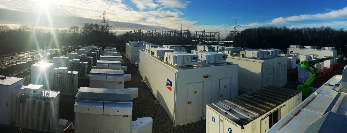 Pelham Storage project is the largest battery project in the European Union