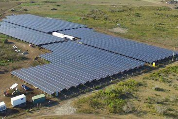 PV Diesel Hybrid Application - St. Eustatius, Netherlands Antilles