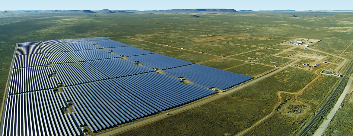 75-megawatt large-scale PV plant in Kalkbult, South Africa