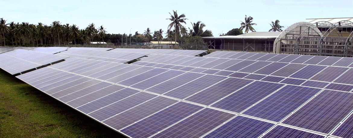 Hybrid energy supply for an island chain in Vava'u, Kingdom of Tonga