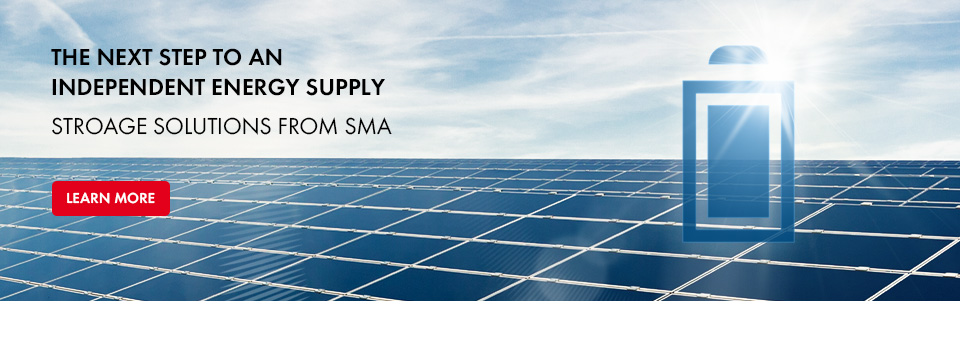 Integration of Storage into PV systems - with SMA Storage Solutions