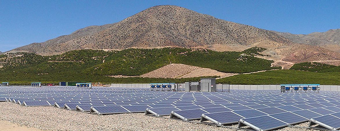 1.2 MWp PV Plant project Tambo Real in Chile
