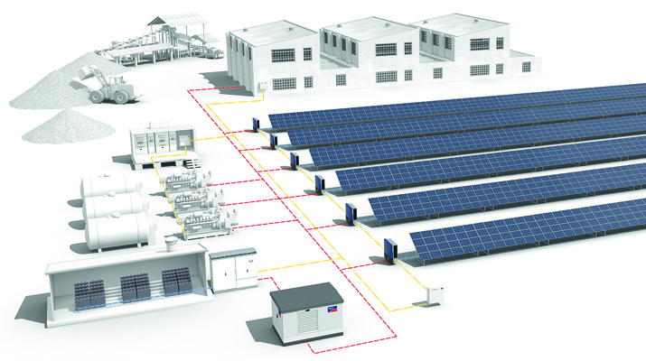 sma supplies system technology for world s largest pv diesel hybrid power plant with battery. Black Bedroom Furniture Sets. Home Design Ideas