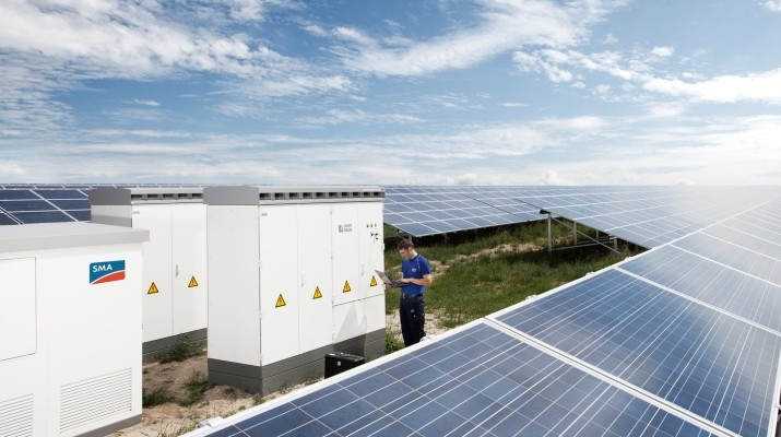 sma delivers inverters and takes over operation